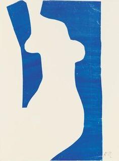 Henri Matisse , Venus  The cut outs