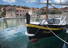 Sali - locality on the island of Dugi Otok - Croatia (with a  type of boat called leut)