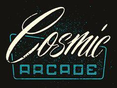 Cosmic Arcade by Philip Eggleston