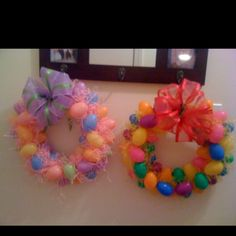 Easter Egg Wreaths!