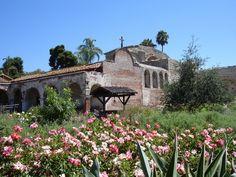 The Mission in San Juan Capistrano, Calif.