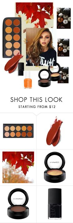"""""""Autumn leaves"""" by juilet13 ❤ liked on Polyvore featuring beauty, Balmain, MAC Cosmetics, NARS Cosmetics and Essie"""