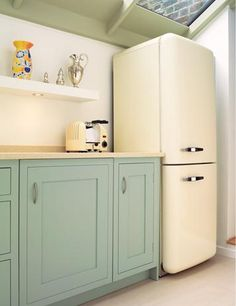 Right then.  When can i move in? @Anji Ponce what do you think of the cabinet color for your kitchen?  PS i love this refrigerator.