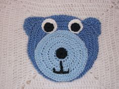 MY BABY BLANKETS ARE MADE WITH TOP QUALITY, ULTRA SOFT BABY YARNS AND LOTS OF LOVE IN A PET-FREE, SMOKE-FREE HOME. THE PERFECT BABY SHOWER GIFT. CHOOSE FROM ALL SMALL BEAR APPLIQUES OR LARGE MIDDLE AND SMALL CORNER BEAR APPLIQUES. COLORS OF YOUR CHOICE, PASTELS AND BOLD TO MATCH