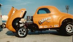 amazing colors {Willys Gasser build pics....from the 60's - THE H.A.M.B.}