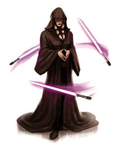 Kreia from Star Wars: Knights of the Old Republic Sith Lords Star Wars Sith, Star Wars Rpg, Star Wars Fan Art, Clone Wars, Star Trek, Star Wars Pictures, Star Wars Images, Geeks, Star Wars Kotor