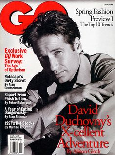 Met David Duchovny.- In kitsilano at Zen Cafe where we were seated next to each other. Lovely.