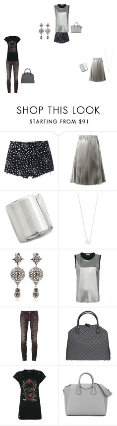 """BLACK SET"" by ramakumari ❤ liked on Polyvore featuring Yves Saint Laurent, Maya Magal, Ruifier, Roberto Cavalli, FABIANA FILIPPI, Philipp Plein, Alaïa and Givenchy"