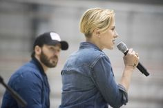 https://flic.kr/p/NKAN42 | 161207-D-PB383-074 | Scarlett Johansson and Chris Evans perform for service members during the USO Holiday Tour at Bagram Air Base, Afghanistan, Dec. 7, 2016. Marine Gen. Joseph F. Dunford, Jr., chairman of the Joint Chiefs of Staff, along with USO entertainers, visited service members who are deployed from home during the holidays at various locations across the globe.  This year's entertainers included actors Chris Evans, actress Scarlett Johansson, NBA Legend…