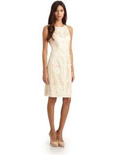 Sue Wong - Soutache-Embroidered Illusion Dress - Saks.com
