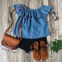 6 CASUAL SUMMER OUTFIT IDEAS - Ladies Fashionz