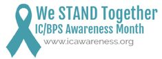 Patients around the world united each September during IC Awareness Month to educate others about interstitial cystitis, bladder pain syndrome & pelvic pain. Painful Bladder Syndrome, Interstitial Cystitis, Daily Facts, Funny Posters, Feeling Alone, New Poster, How To Raise Money, September, Told You So