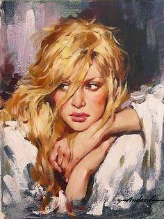 The Poet of Painting ~ Catherine La Rose : Andrew ATROSHENKO / Se penso a te ~ Catherine La Rose