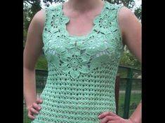 Resultado de imagem para puntadas de crochet para blusas