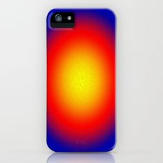 Red Sun iPhone Case by Art-Motiva - $35.00