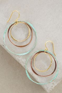 Matryoshka Hoops - anthropologie.com