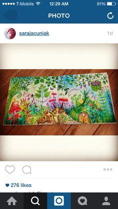 Secret garden/enchanted forest