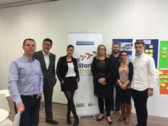 Bank of Ireland in for a catch up on plans for the Startup Gathering