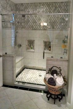 49 Amazing Bathroom Shower Remodel Ideas On A Budget bathroom Bathroom Remodel Shower, Shower Tile, Bathroom Makeover, Bathroom Interior, Bathroom Renovations, Amazing Bathrooms, Bathroom Shower, Bathrooms Remodel, Bathroom Redo