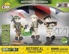British Soldiers - Soldiers Figures - for kids 4 Kids Blocks, British Soldier, Red Army, Toys Online, Lower Case Letters, Soldiers, Ww2, Lego, Legos