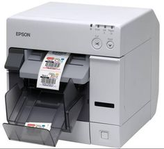 Epson ColorWorks Driver - Epson ColorWorks LabelTerminal has a high-speed CPU and is equipped with an easy-to-use TFT LCD touch panel Bin Labels, Waterproof Labels, Printer Driver, Black Ink Cartridge, Printing Labels, 3d Printing, Inkjet Printer, Epson, Locker Storage
