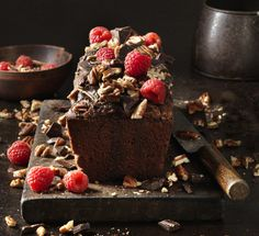 YourHome - Recipes - Lily Vanilli's chocolate loaf cake