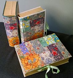 Altered Books by Tuija Book Folding, Altered Books, Book Art, Vintage, Vintage Comics