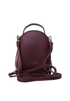 Lamonza Rucsac de piele ecologica Femei Bordeaux, Leather Backpack, Backpacks, Bags, Fashion, Handbags, Moda, Leather Backpacks, Fashion Styles