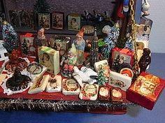 LA2 261 Nuremberg Christmas Market Booth Toy Store Antique German 1920´S | eBay