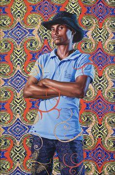Kehinde Wiley Visual And Performing Arts, Kehinde Wiley, Contemporary Artists, Human Art, Painting, Illustration Art, Art, African Art, Contemporary Art