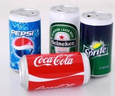 Can Shaped Power Bank Pepsi, Coca Cola, Canning, Drinks, Office Supplies, India, China, Things To Sell, Hot