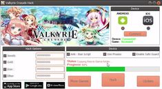 Try Valkyrie Crusade Hack download 2016 update version. Hack Valkyrie Crusade Hack with cheat. Hack Valkyrie Crusade Hack on smartphone directly. New cheats available in this moment.