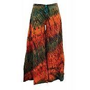 Cotton Wide Leg Drawstring Pants