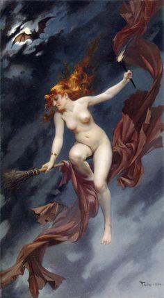 Luis Ricardo Falero (1851-1896) The Witches Sabbath