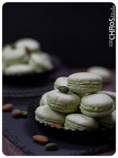 Pistazien Macaron Macarons, Cookies, Desserts, Food, Pistachios, Dessert Ideas, Food Food, Recipies, Crack Crackers