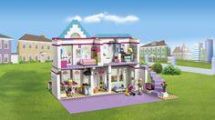 41314 Stephanie a její dům - Výrobky - Friends LEGO.com