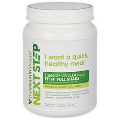 Buy Fit N Full Shake - FRENCH VANILLA (1.2 Pound Powder) from the Vitamin…
