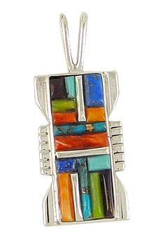 Turquoise Pendant Sterling Silver Jewelry