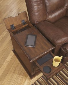 The hidden storage side table this is the slim profile for Schmaler hoher beistelltisch