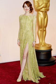 Emma Stone Oscar 2015-Eliee Saab