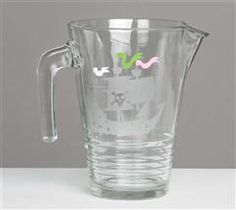 Impress your guests with this easy to create pitcher using the Pirates and Mermaids cartridge!