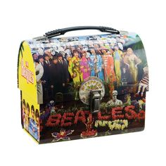 The Beatles Lunch Box-- must have accessory for the nursery