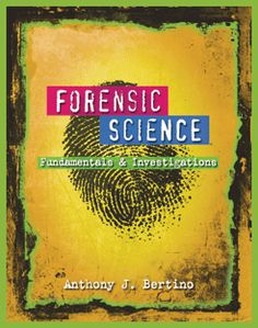 With today's popular television programs about criminal justice and crime scene investigation and the surge of detective movies and books, students often have a passion for exploring forensic science. Now you can guide that excitement into a profitable learning experience with the help of the innovative, new FORENSIC SCIENCE: FUNDAMENTALS AND INVESTIGATIONS, 2012 UPDATE.