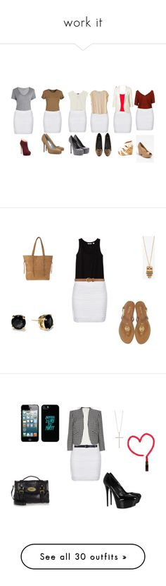 """work it"" by sandyeffy ❤ liked on Polyvore featuring Majestic, Topshop, Sergio Rossi, Poleci, MANGO, Charlotte Russe, Humanoid, Zadig & Voltaire, Giuseppe Zanotti and Yves Saint Laurent"