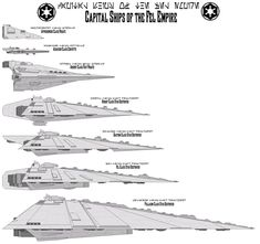 The Apprehender Class Frigate, Ardent Class Fast Frigate, and Pellaeon Class Star Destroyer are official designs, while the Assassin Class Corvette is a fan made design for a Star Wars Legacy game ...