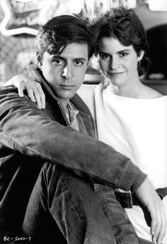 Judd Nelson and Ally Sheedy - Back when things were simple...
