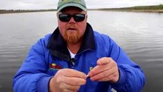 How to double hook a shiner minnow with Bro