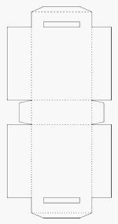 Sacola de Papel Para Imprimir, Recortar, Colar e Montar - Molde de Embalagem e Para eva - Dicas de Artesanato Grátis.
