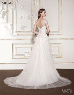 ICARIA | Wedding Dress | 2015 Romantic Collection | by Sara Villaverde | Villais (back)