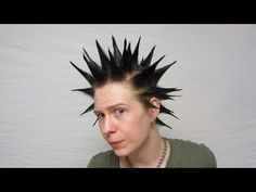 How To Make Liberty Spikes Hair. LOVE his accent and slight sarcasm.